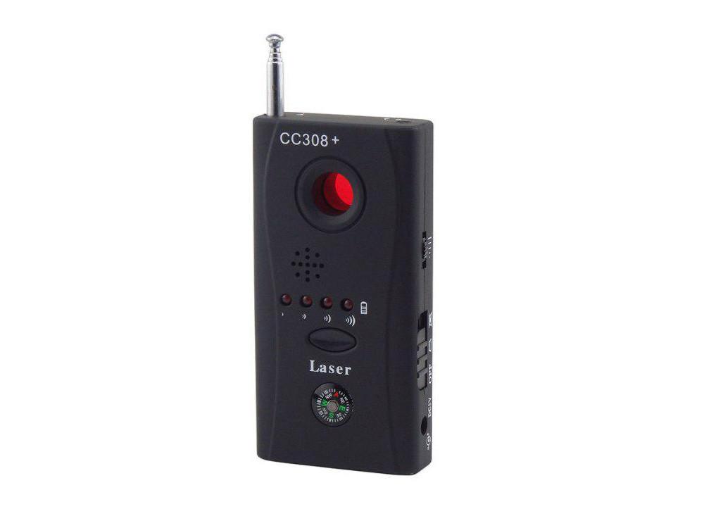 Детектор скрытых камер и жучков CC308+ Laser