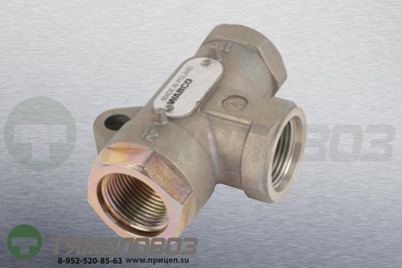 Клапан двухмагистральный 10 бар MB, BPW, Iveco, Scania, Volvo 4342080210