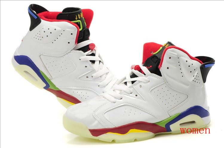 Баскетбольные кроссовки Nike Air Jordan 6 Retro светящаяся подошва