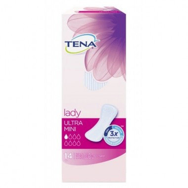Прокладки Tena Lady ultra Mini 14 тонкие, фото 2