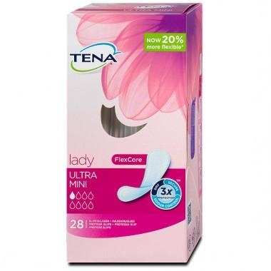 Прокладки Tena Lady ultra Mini 28 штук