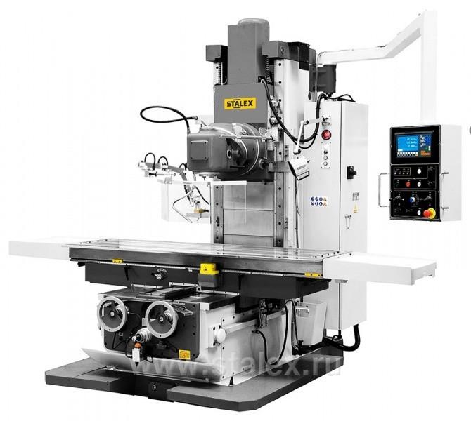 Бесконсольный универсально-фрезерный станок STALEX BFM2100 DRO