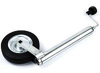 Подкатное колесо для прицепа с регулируемой высотой