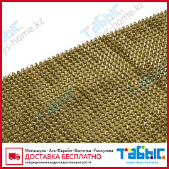 Коврик щетинистый Стандарт 90х1500 см (золотой цвет)