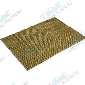 Коврик щетинистый Стандарт 90х1500 см (золотой цвет), фото 2