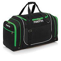 Спортивная сумка Macron CONNECTION Черный/Зеленый, Small