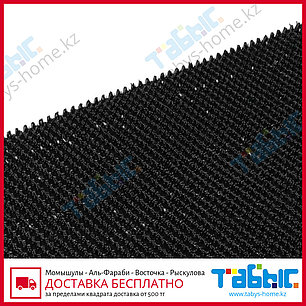 Коврик щетинистый Стандарт 90х1500 см (черный цвет), фото 2