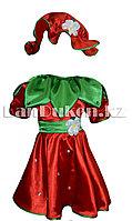 Карнавальный костюм детский овощи и фрукты (01) 24-34 р клубника