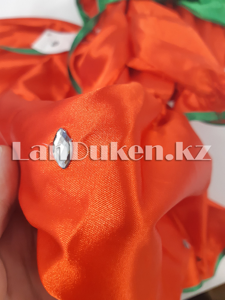Карнавальный костюм детский овощи и фрукты (01) 24-34 р клубника - фото 6