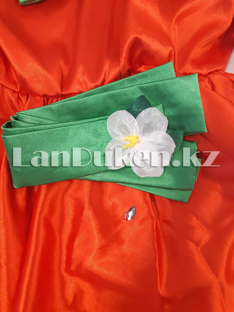 Карнавальный костюм детский овощи и фрукты (01) 24-34 р клубника - фото 7