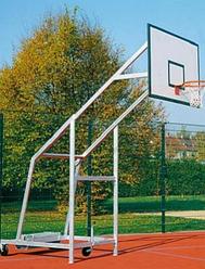 Стойка баскетбольная металлическая передвижная