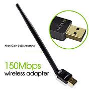 Беспроводной USB wifi адаптер EDUP с антенной. 150 Мб/с.
