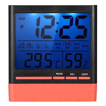 Метеостанция CX-318S (время / дата / температура / влажность / подсветка). Бесплатная доставка. Оптом дешевле