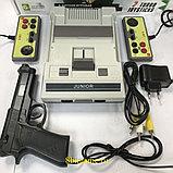 Игровая приставка Dendy Junior 2  300 игр+пистолет, фото 4