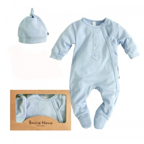 """Подарочный набор для новорожденных. Комплект одежды для малышей """"Зефир"""""""