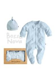 """Подарочный набор для новорожденных. Комплект одежды для малышей """"Зефир"""" с бабочкой"""