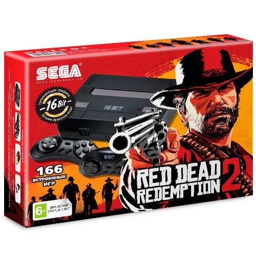 Игровая приставка SEGA Super Drive Red Dead Redemption 2 166 игр black
