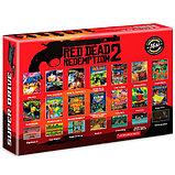 Игровая приставка SEGA Super Drive Red Dead Redemption 2 166 игр black, фото 2