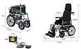 Инвалидная коляска COSIN COLOR 180E , с  электроприводом  24v  500w. Возможность индивидуальной регулировки., фото 2