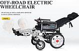 Инвалидная коляска COSIN COLOR 180E , с  электроприводом  24v  500w. Возможность индивидуальной регулировки., фото 3