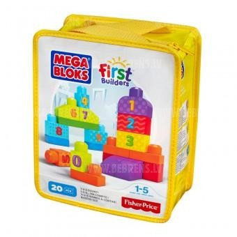 "Конструктор для малышей Mega blocks ""First builders"""