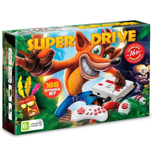 Игровая приставка Sega Super Drive Crash (166 игр)