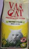 Van Cat  Natural, 15 кг, без аромата комкующийся наполнитель для кошачьего туалета, фото 1