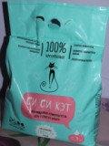 Си Си Кэт Комкующийся наполнитель для кошачьего туалета, 5.3 л (3,450 кг)