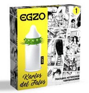Стимулирующая насадка EGZO Carlos del Falos