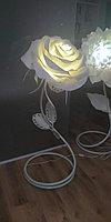 Светильник напольный ручной работы Роза., фото 1