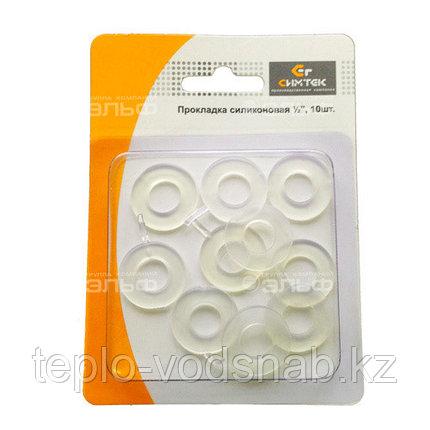 """Прокладка силикон. 1/2"""" (упаковка 10шт.) в блистере, фото 2"""