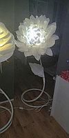 Светильник торшер напольный ручная работа ''Пион''