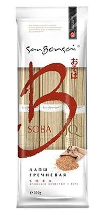 Лапша«Soba» из гречневой муки San Bonsai