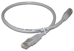 48417100FFFM коммутационный шнур Canovate UTP CAT6 5mt серый