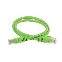 ITK Коммутационный шнур (патч-корд), кат.6 UTP, 1м, зеленый