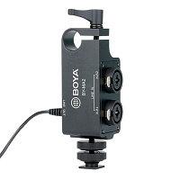 Boya BY-MA2 двухканальный XLR аудио сместитель, фото 1