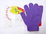 Мочалка перчатка пять пальцев, фото 2