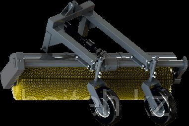 Оборудование коммунальное щёточное МК 2