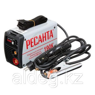Сварочный аппарат инверторный САИ190К (компакт) Ресанта
