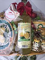 Новогодняя корзина лимон - все из Италии
