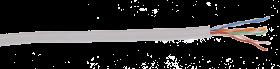 ITK BC1-C5E04-111 Каб. вп ШПД U/UTP кат.5E 4х2х0,48мм solid, PVC, 305м сер.