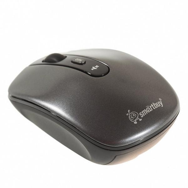 Мышь беспроводная БЕСШУМНАЯ Smartbuy 314AG