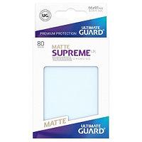 Протекторы 66х91, 80шт. Ultimate Guard Premium, Матовые прозрачные