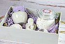 """Набор для ванн """"Цветочный"""" с ароматом розы, фото 4"""