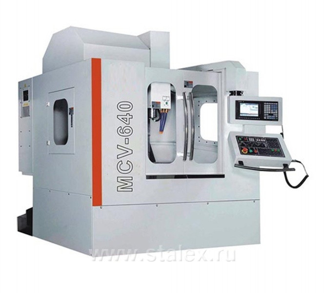 Обрабатывающий центр с ЧПУ STALEX MCV-640 CNC