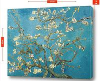 """Картина на холсте """"Цветущая миндаль"""" - Винсент Ван Гог"""