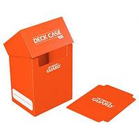 Коробочка для карт Deck case на 80шт, Ultimate Guard, цвет оранжевый