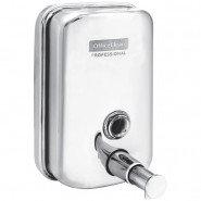 Дозатор для жидкого мыла OfficeClean Proffesional 500 мл, металлический