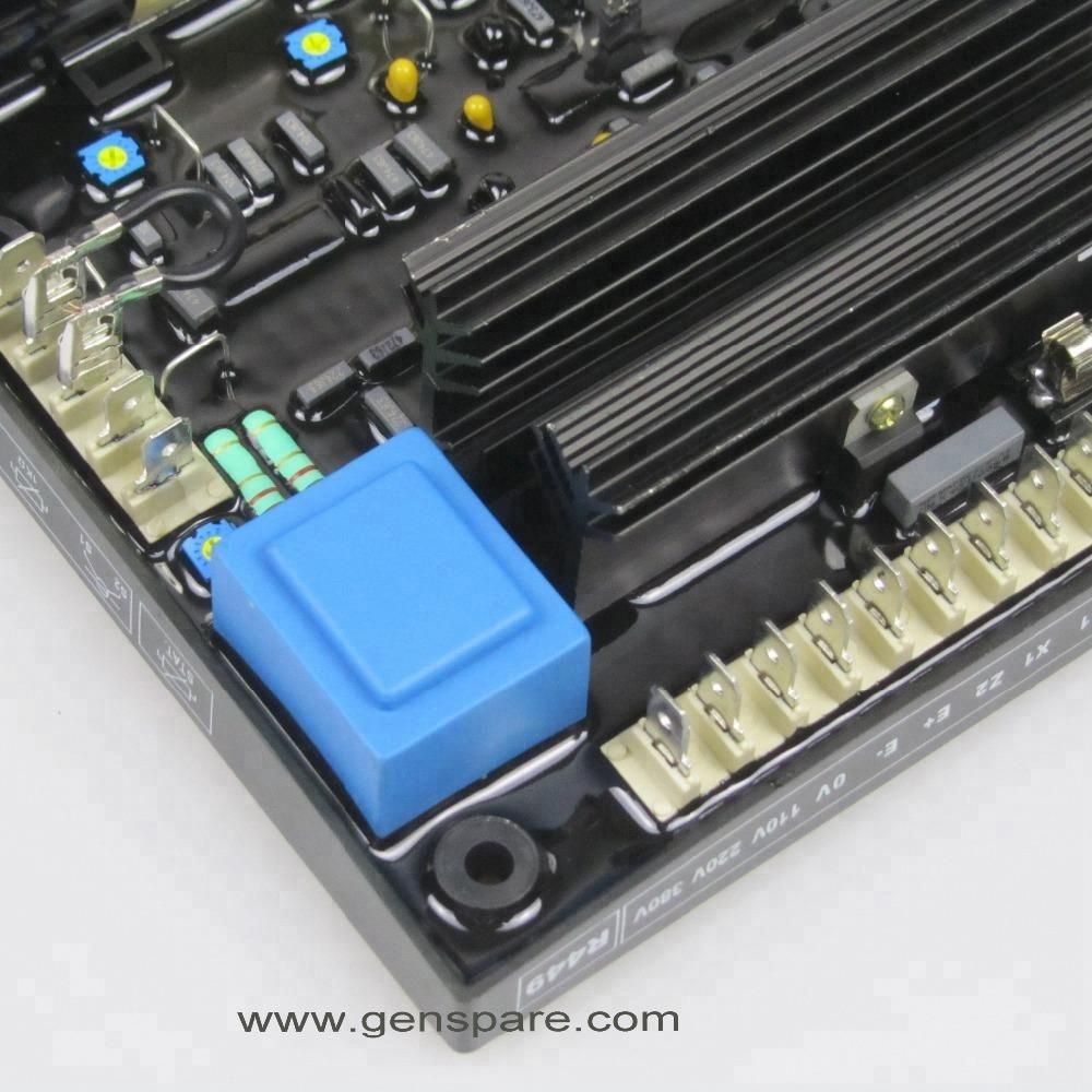 Регулятор напряжения генератора Leroy Somer AVR R449