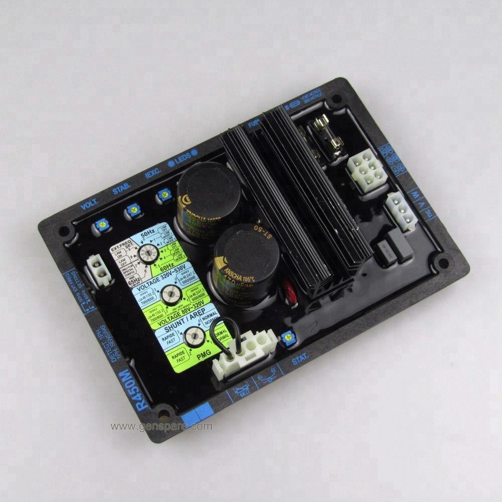 Leroy Somer R450M AVR Автоматический регулятор напряжения